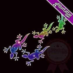 5 little lizards 4,5 x 8,5cm Ref A29