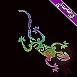 Maori Lizard - 4 x 8cm - Ref A28