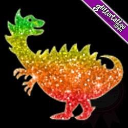 Dino - plantilla de dinosaurio para tatuaje temporal