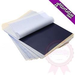 10 hojas papel de calco y 1 lápiz hectográfico