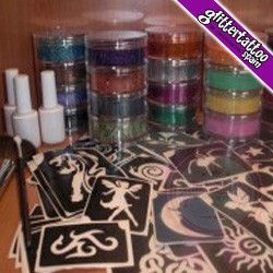 Kit Profesional Grande De Tattoos
