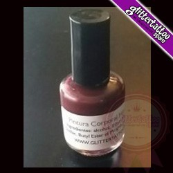 Pink Body Paint 15ml with brush.
