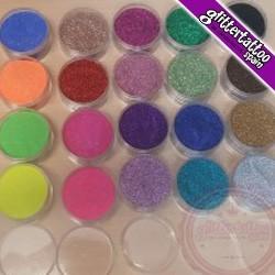 Glitter sample.