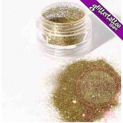 Bote enroscable de 2 gramos - Oro Dorado