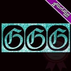 """""""G"""" - 3 en 1 - La letra mide 2.5cm de alto"""