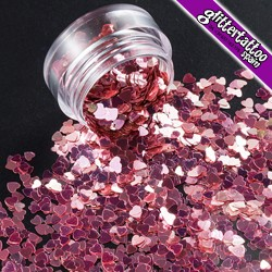 Rosa Metalizada - bote 3gr
