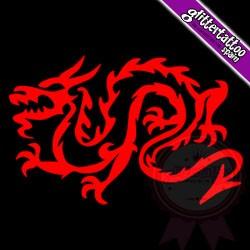 Welsh Dragon 5.5cm x 7cm Ref: D6
