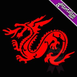 Dragon flame - 10cm x 7cm - Ref- 0122