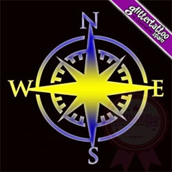 Compass 5,5cm tall - Ref: Y23