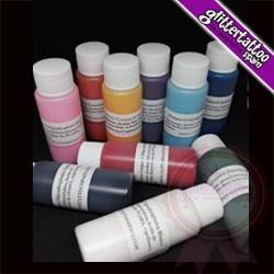 Set of 10 25ml pots of airbrush body paint