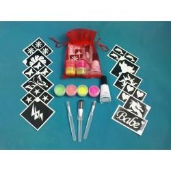 Fluorescent Kit pour les filles (18 modèles)