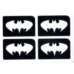 4 en 1 plantillas de Batman
