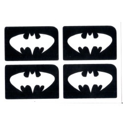 4 en 1 plantillas de Batman