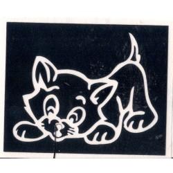 Gato Jugando 5.5cm x 6.8cm - A9