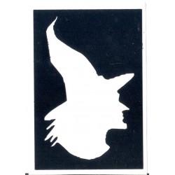 Bruja -Witch - 7 cm x 4,7cm 0321