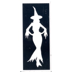 Bruja guapa - Pretty witch 8 x 3,2cm 0328