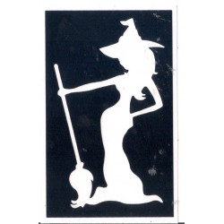 Bruja - witch 1 - 8 x 4,9cm 0327