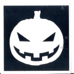 Calabaza de haloween 2 - 5 x 5cm 0322