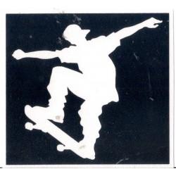0259 Skater 6,3cm x 6,7cm