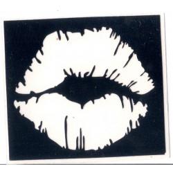 Big Kiss - 5 x 5,5cm - Ref: V62