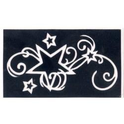 Star Swirls - 4,5 x 7,5cm - Ref:S7