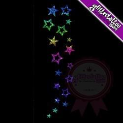 18 Stars - 18cm x 6cm