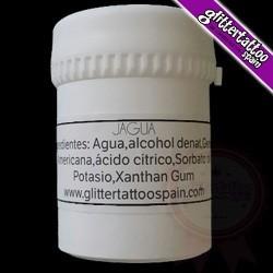 Jagua gel for temporary tattoo