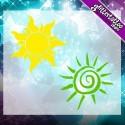 Suns and spirals