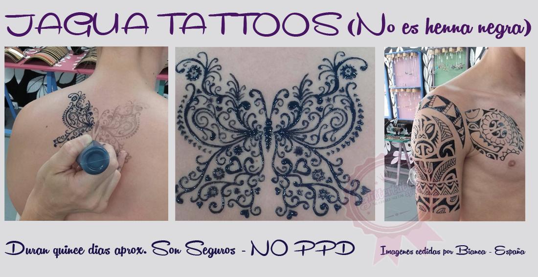 gel de jagua para tatuaje temporal
