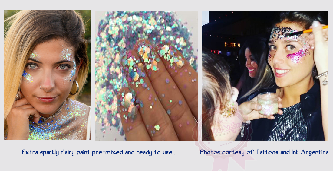 Fairy paint for parties