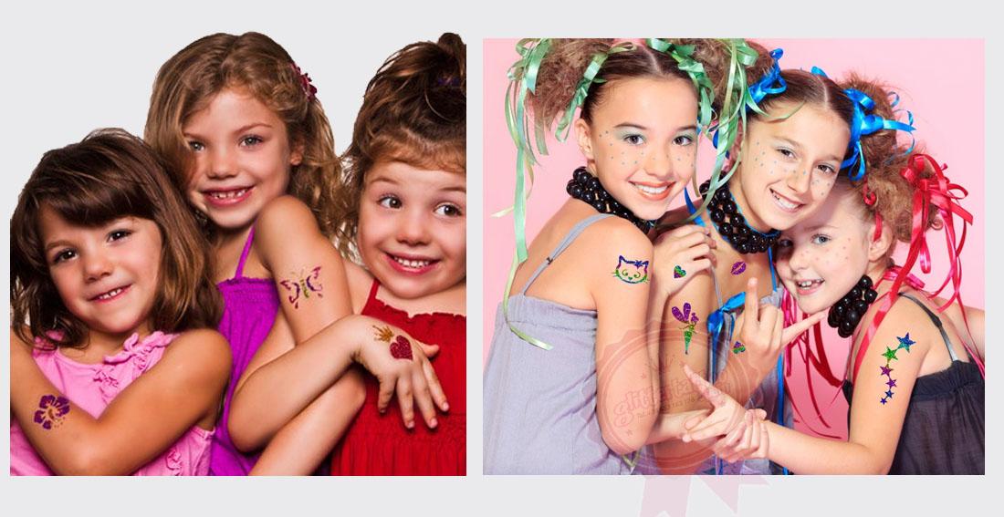 Los niños con tatuajes de purpurina son niños con una gran sonrisa - son hipoalergénicos y resistentes al agua. En nuestra web encontrarás purpurina cosmética, plantillas, cola etc bien de precio y con servicio de entrega con Seur 24h